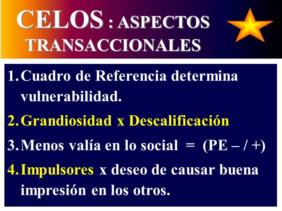 CELOS : ASPECTOS TRANSACCIONALES