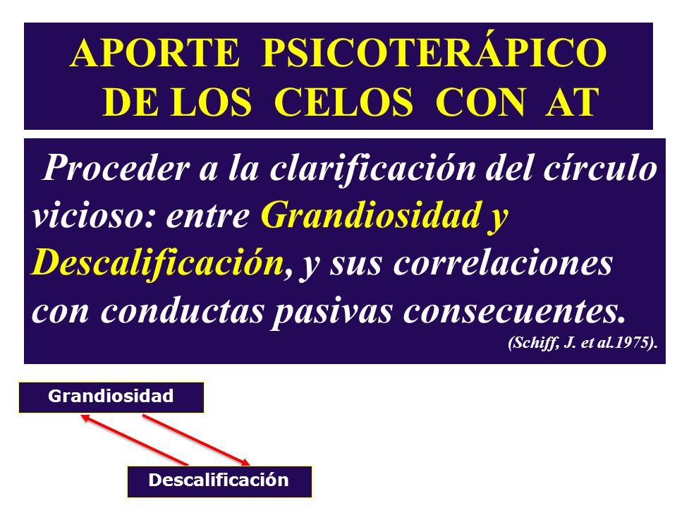 APORTE PSICOTERÁPICO DE LOS CELOS CON AT