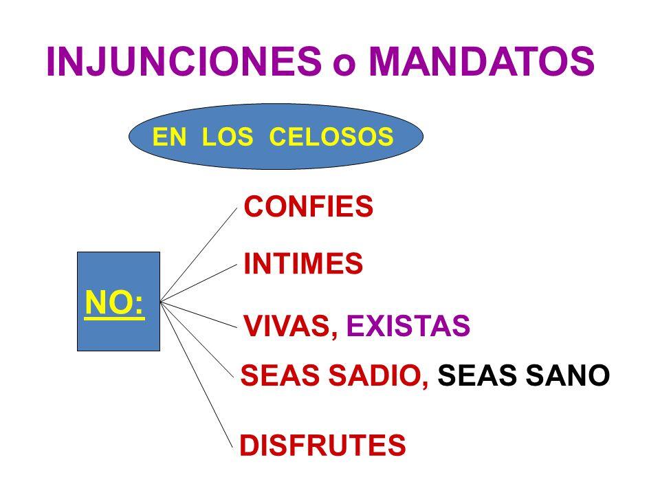 INJUNCIONES o MANDATOS