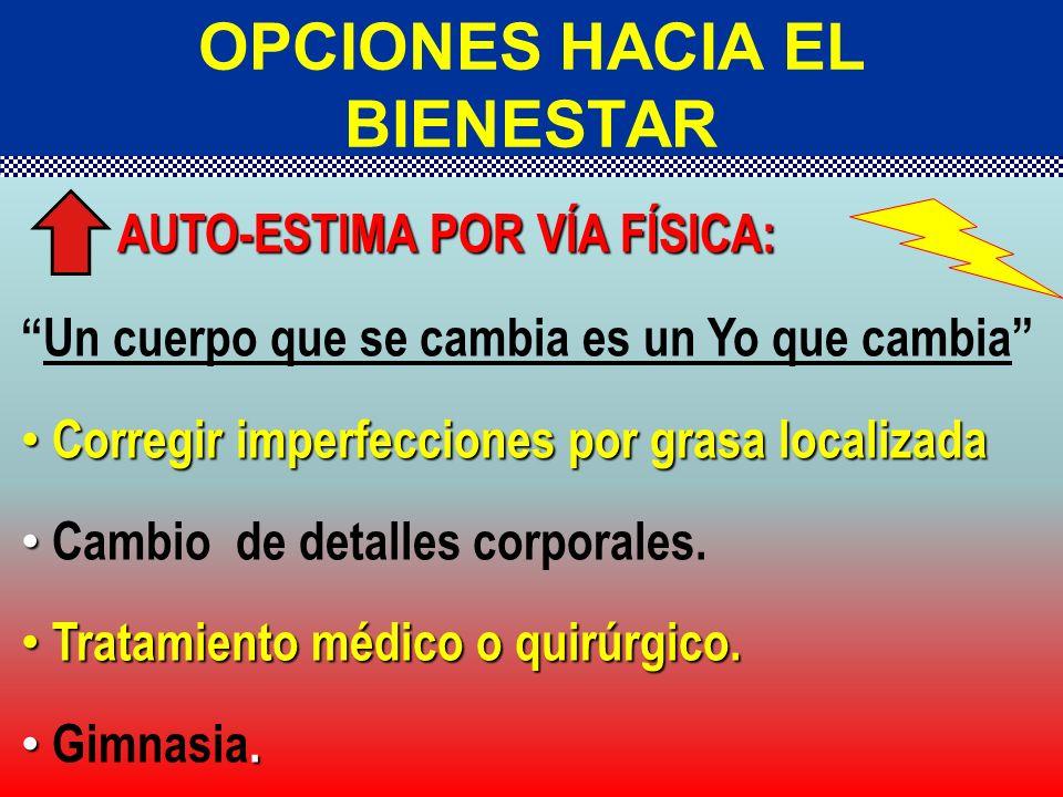 OPCIONES HACIA EL BIENESTAR