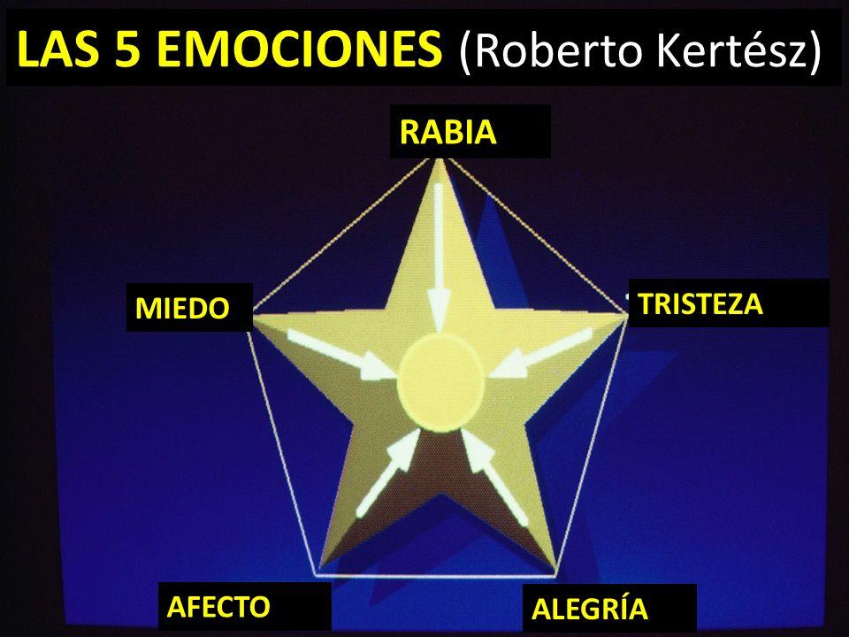 LAS 5 EMOCIONES (Roberto Kertész)