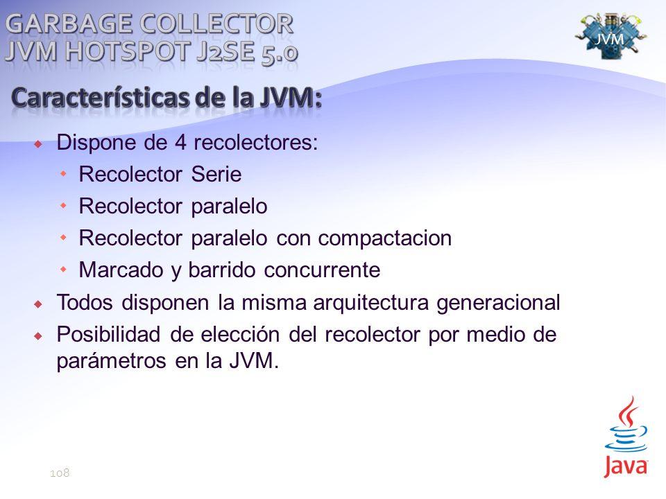 Características de la JVM: