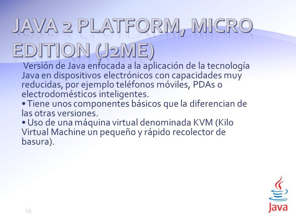 Java 2 Platform, Micro Edition (J2ME)