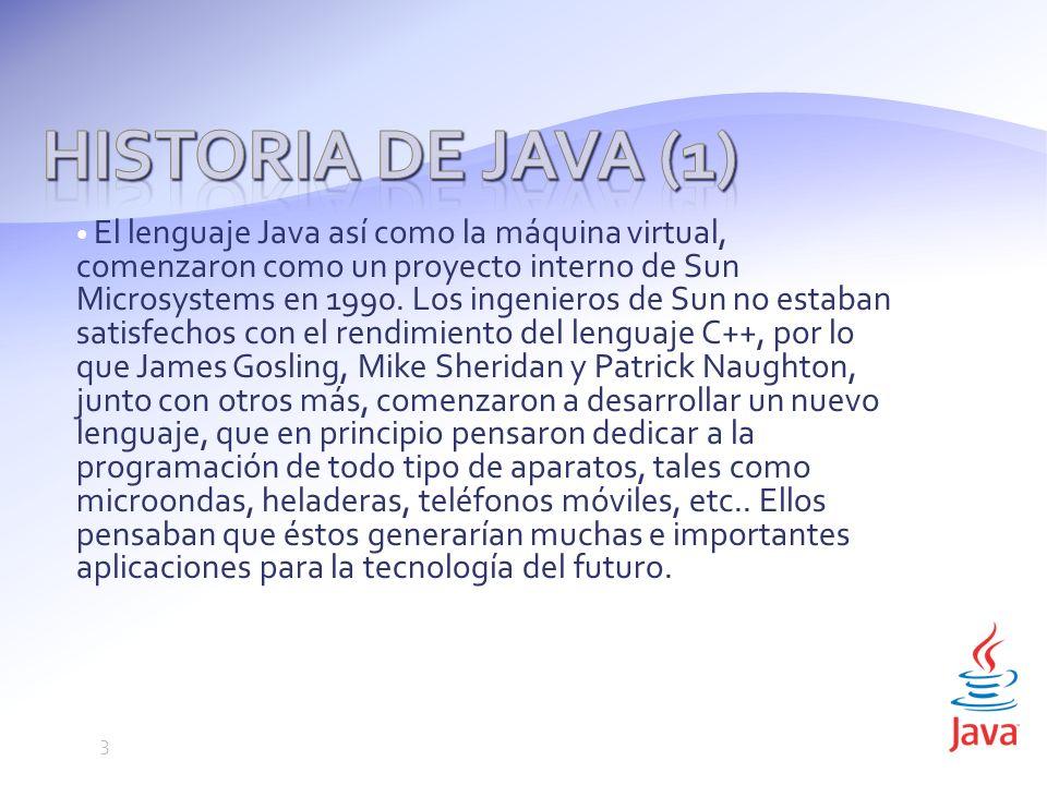 Historia de Java (1)