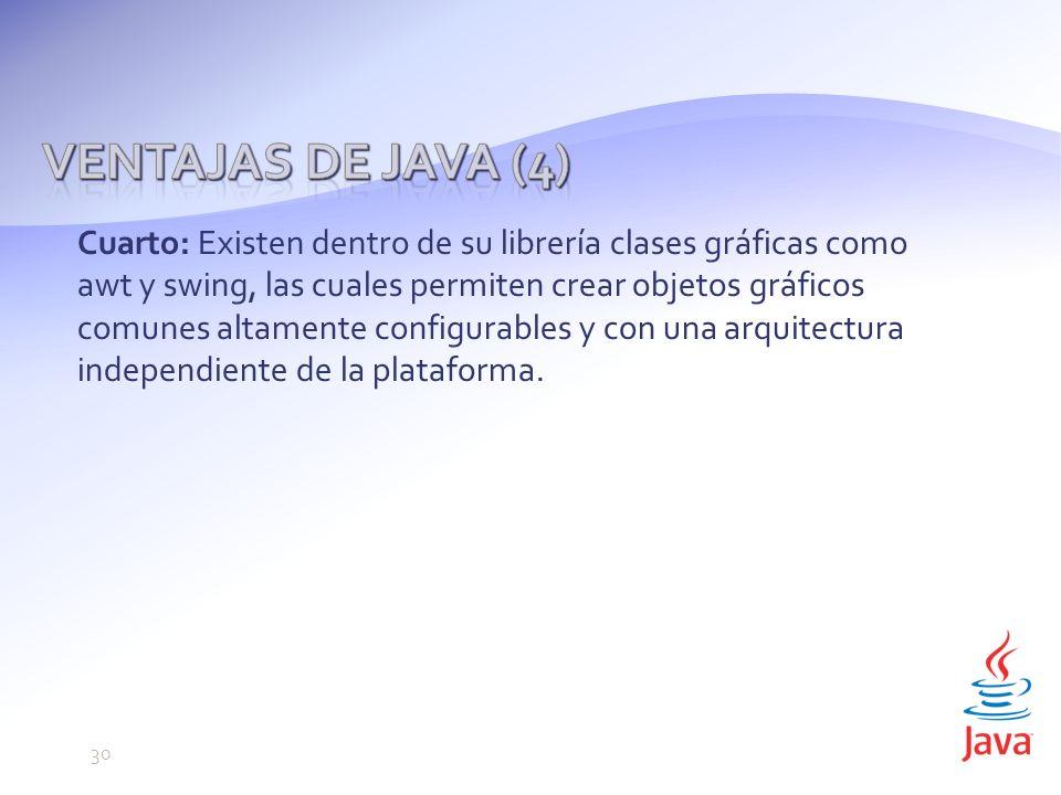 Ventajas de Java (4)