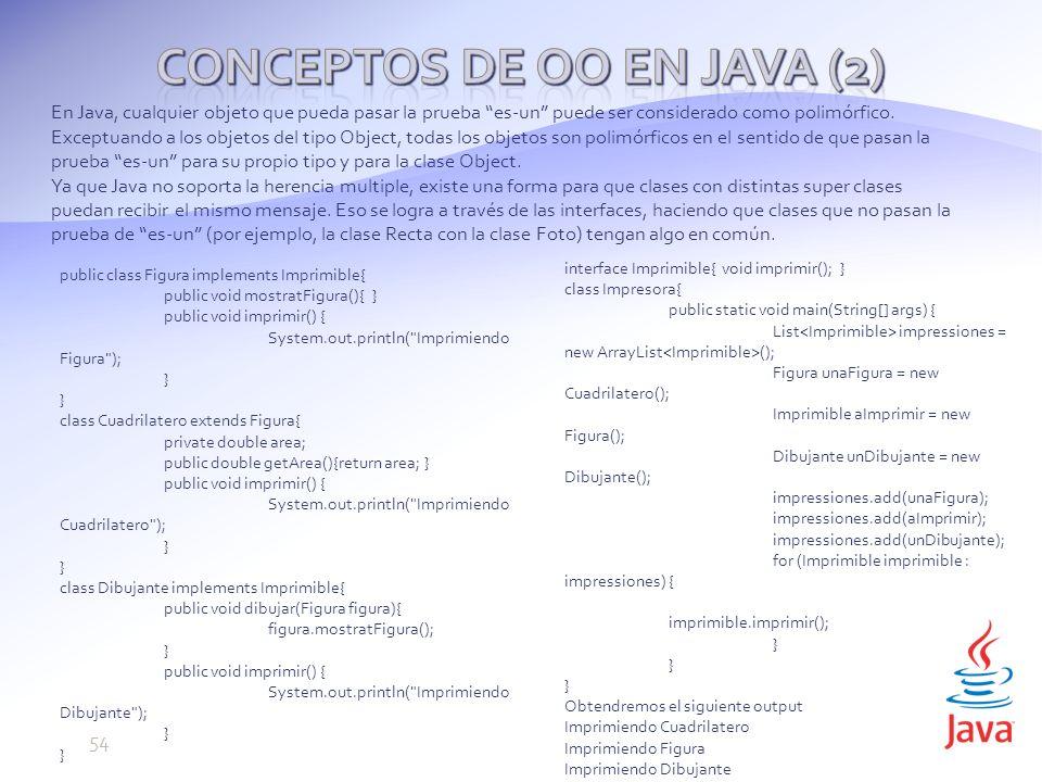 Conceptos de OO en Java (2)