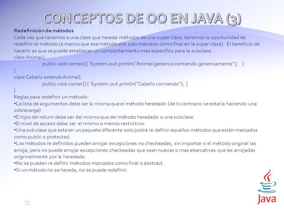 Conceptos de OO en Java (3)