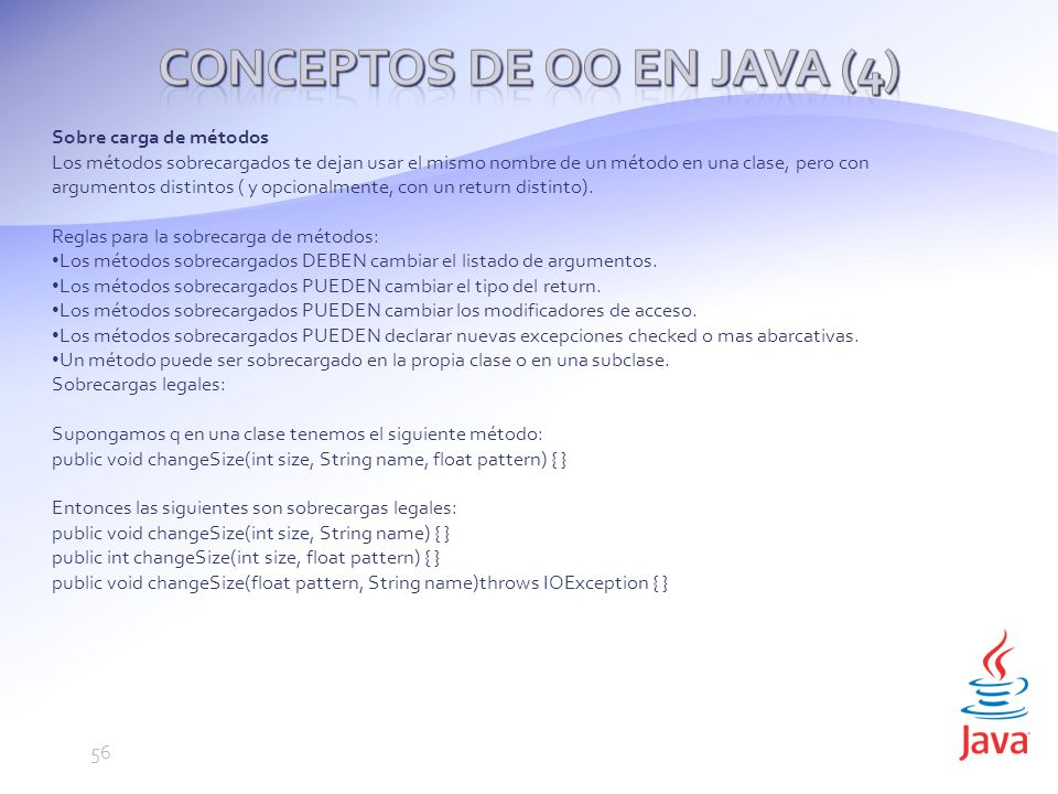 Conceptos de OO en Java (4)