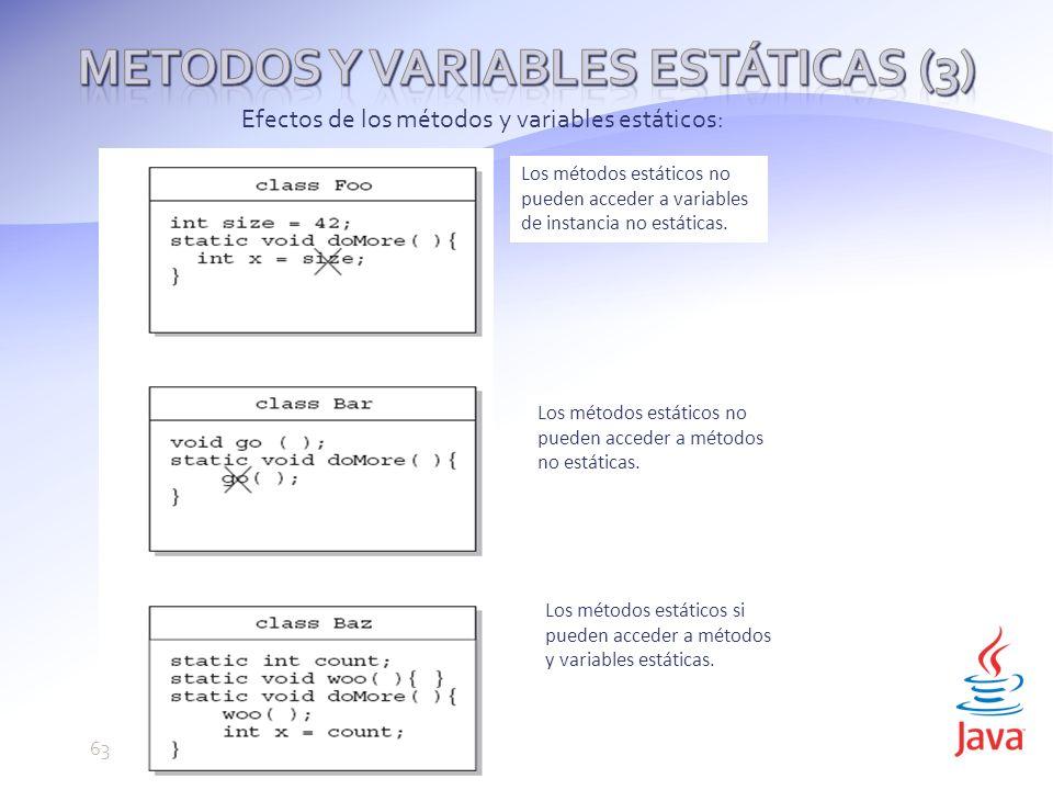 Metodos y variables estáticas (3)