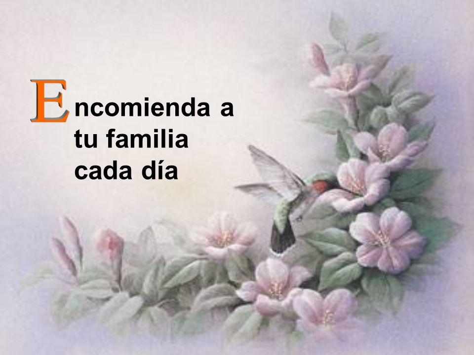 ncomienda a tu familia cada día