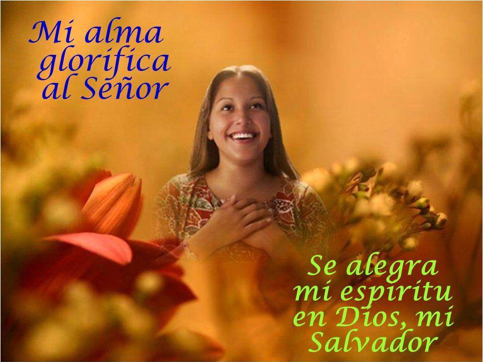 Mi alma glorifica al Señor