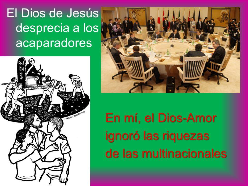 El Dios de Jesús desprecia a los acaparadores