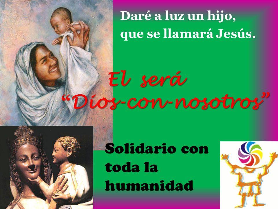 Dios-con-nosotros Solidario con toda la humanidad