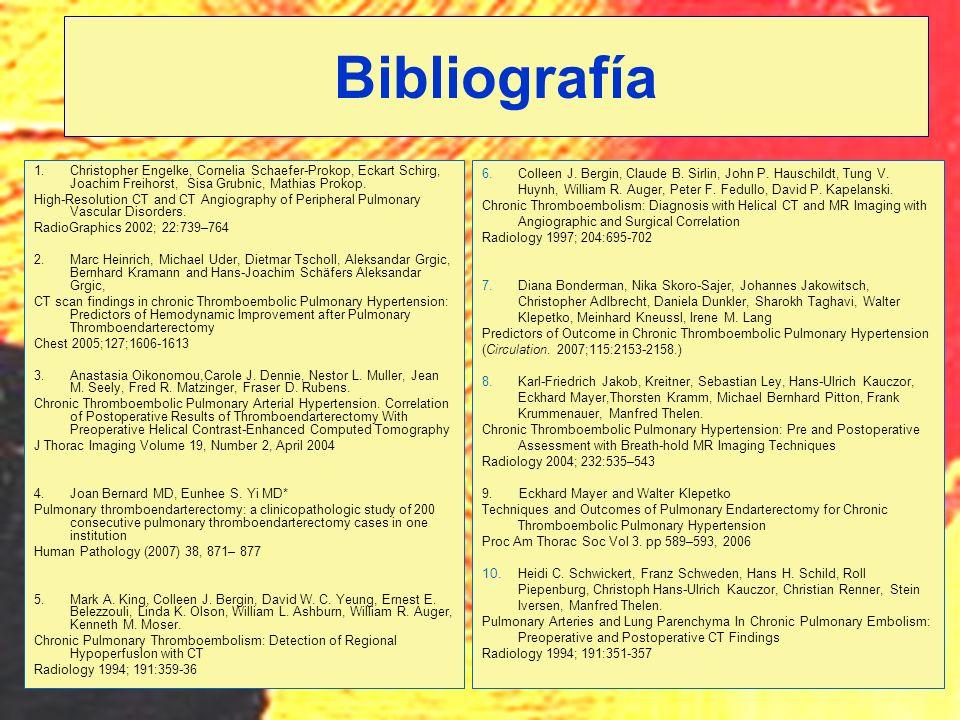 Bibliografía Christopher Engelke, Cornelia Schaefer-Prokop, Eckart Schirg, Joachim Freihorst, Sisa Grubnic, Mathias Prokop.