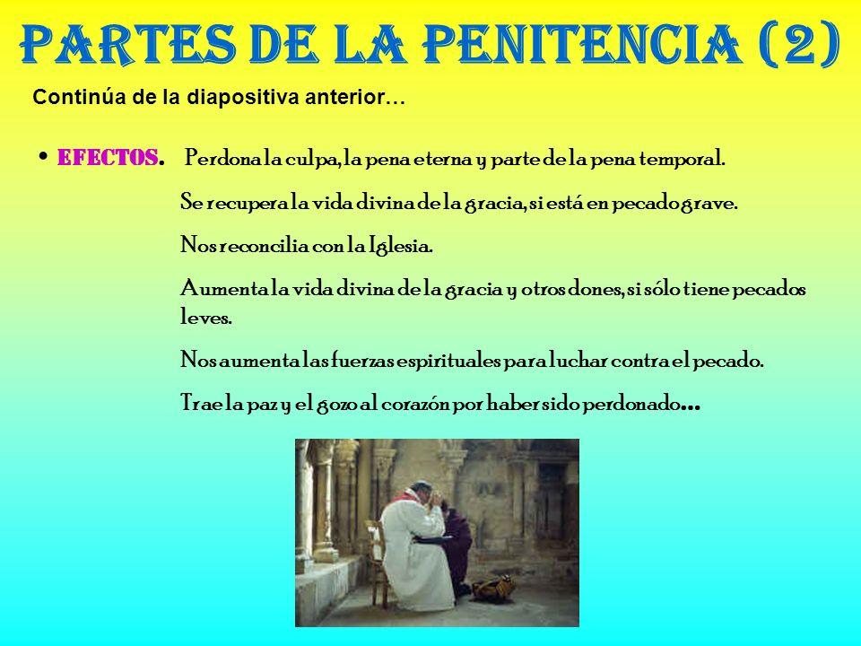 Partes de la Penitencia (2)