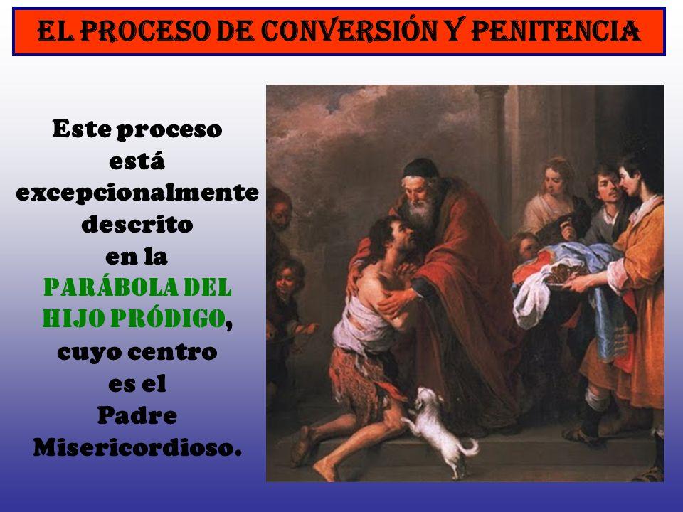 EL PROCESO DE CONVERSIÓN Y PENITENCIA