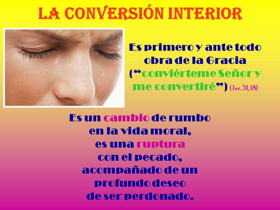 La conversión interior