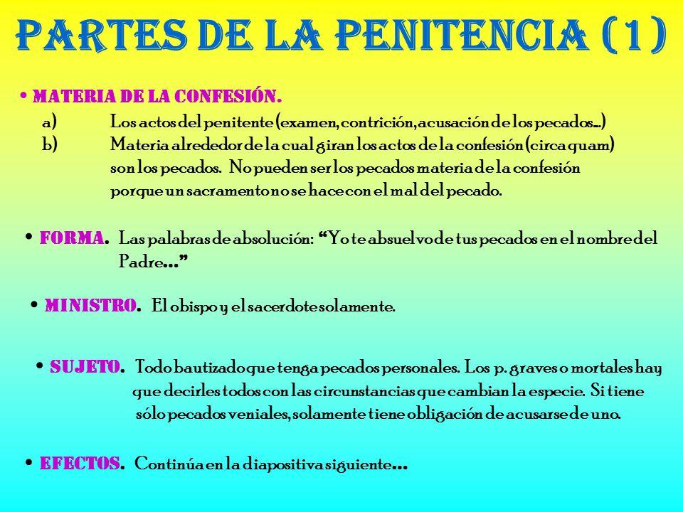 Partes de la Penitencia (1)