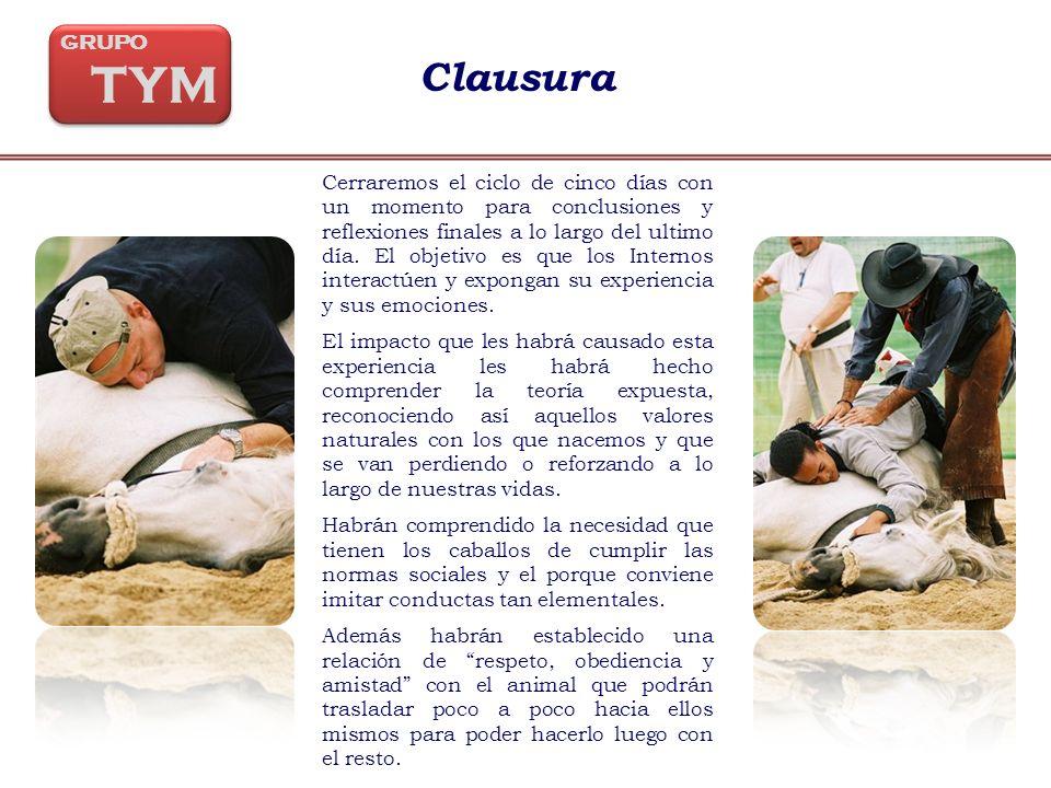 GRUPO TYM. Clausura.