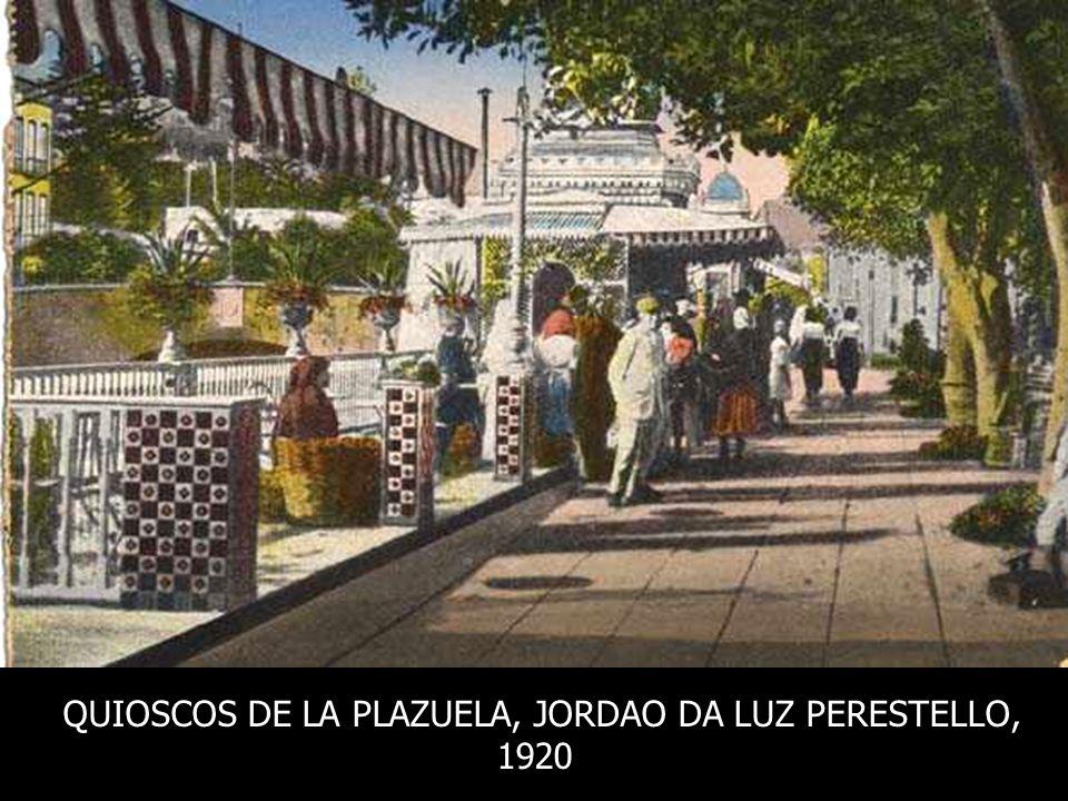 QUIOSCOS DE LA PLAZUELA, JORDAO DA LUZ PERESTELLO,