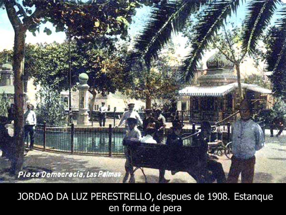 JORDAO DA LUZ PERESTRELLO, despues de 1908. Estanque