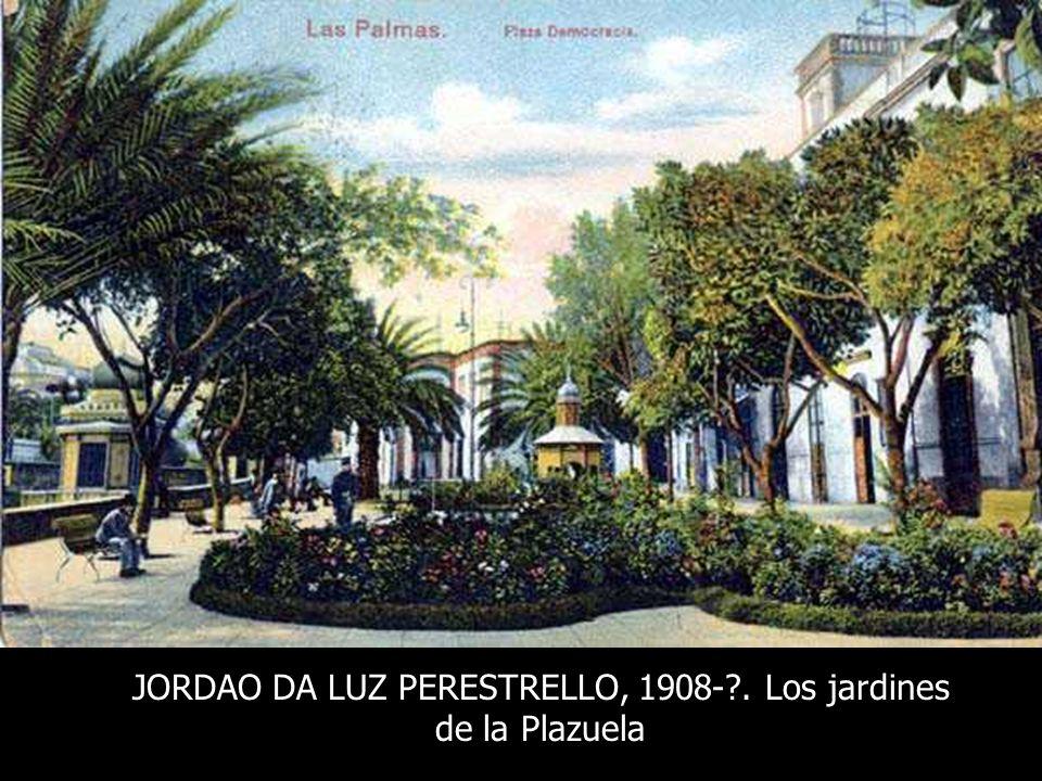 JORDAO DA LUZ PERESTRELLO, 1908- . Los jardines