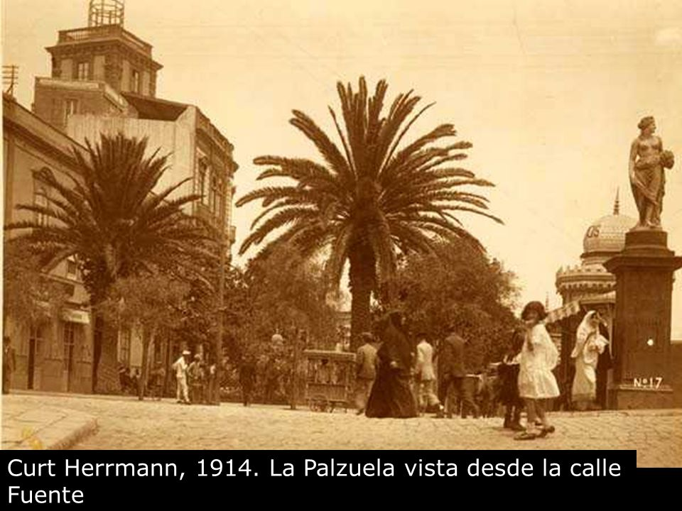 Curt Herrmann, 1914. La Palzuela vista desde la calle