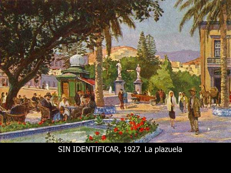 SIN IDENTIFICAR, 1927. La plazuela