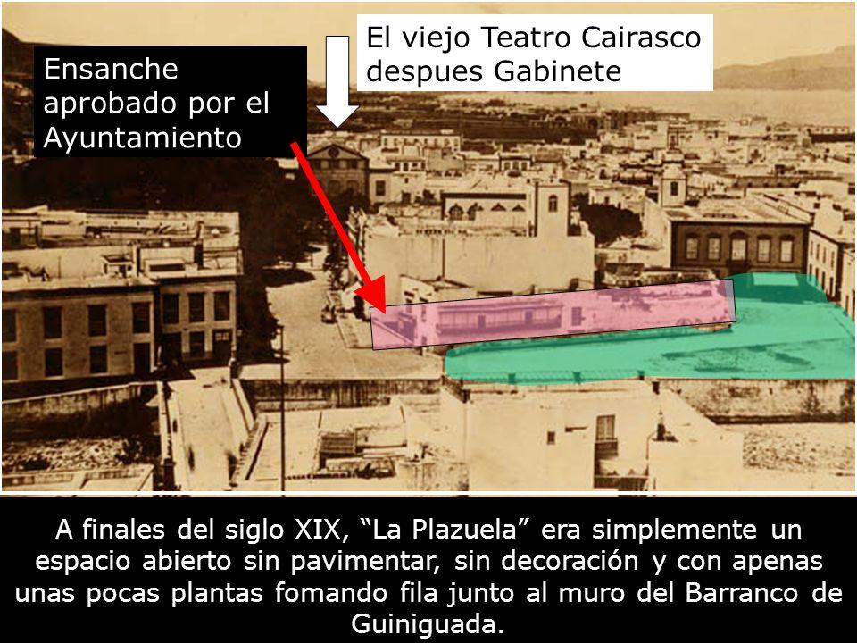 El viejo Teatro Cairasco despues Gabinete