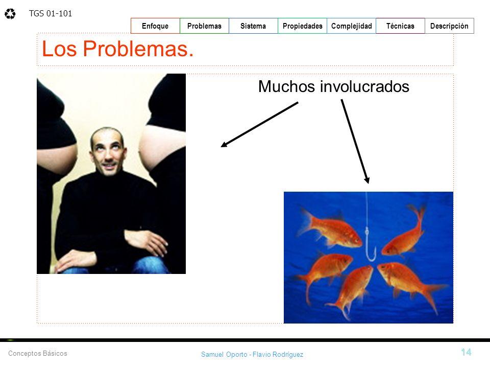 Los Problemas. Muchos involucrados