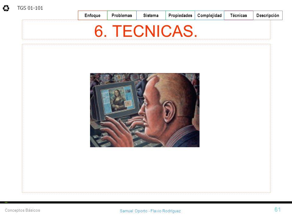 6. TECNICAS.