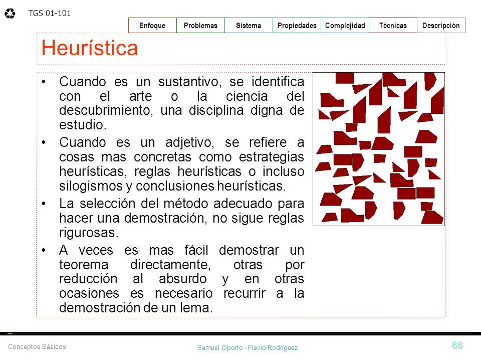 Heurística Cuando es un sustantivo, se identifica con el arte o la ciencia del descubrimiento, una disciplina digna de estudio.