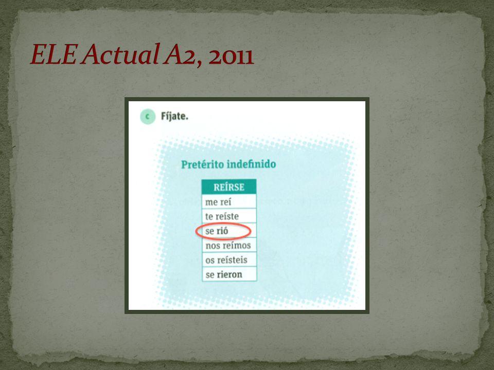 ELE Actual A2, 2011
