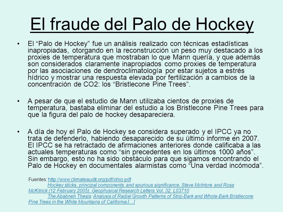 El fraude del Palo de Hockey