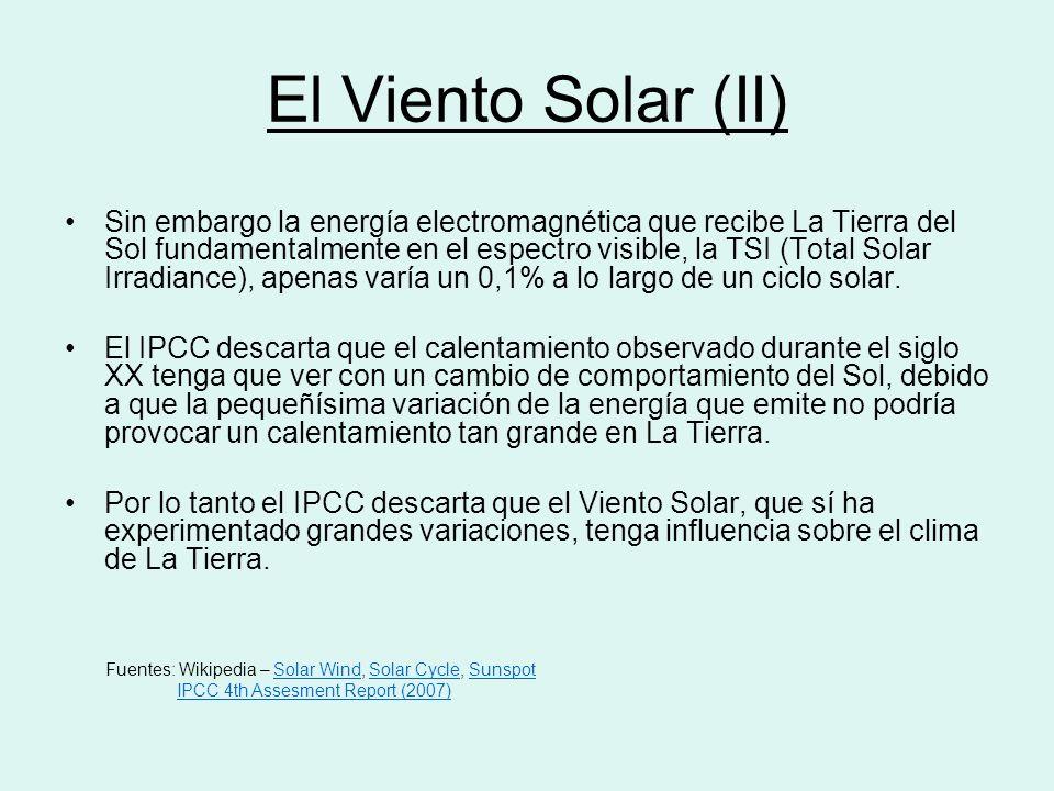 El Viento Solar (II)
