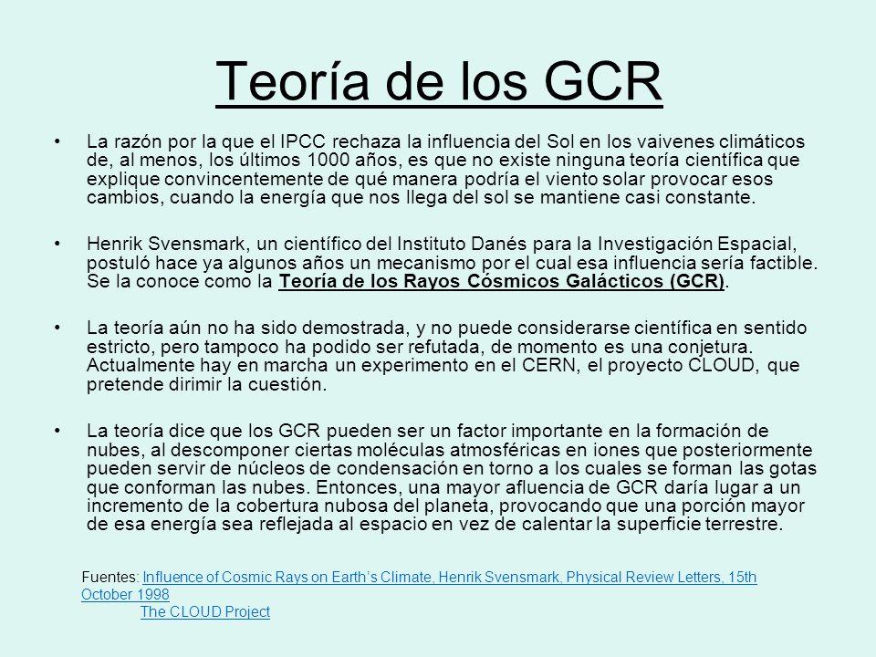 Teoría de los GCR
