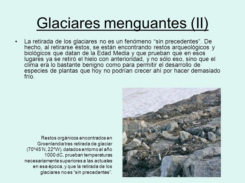 Glaciares menguantes (II)
