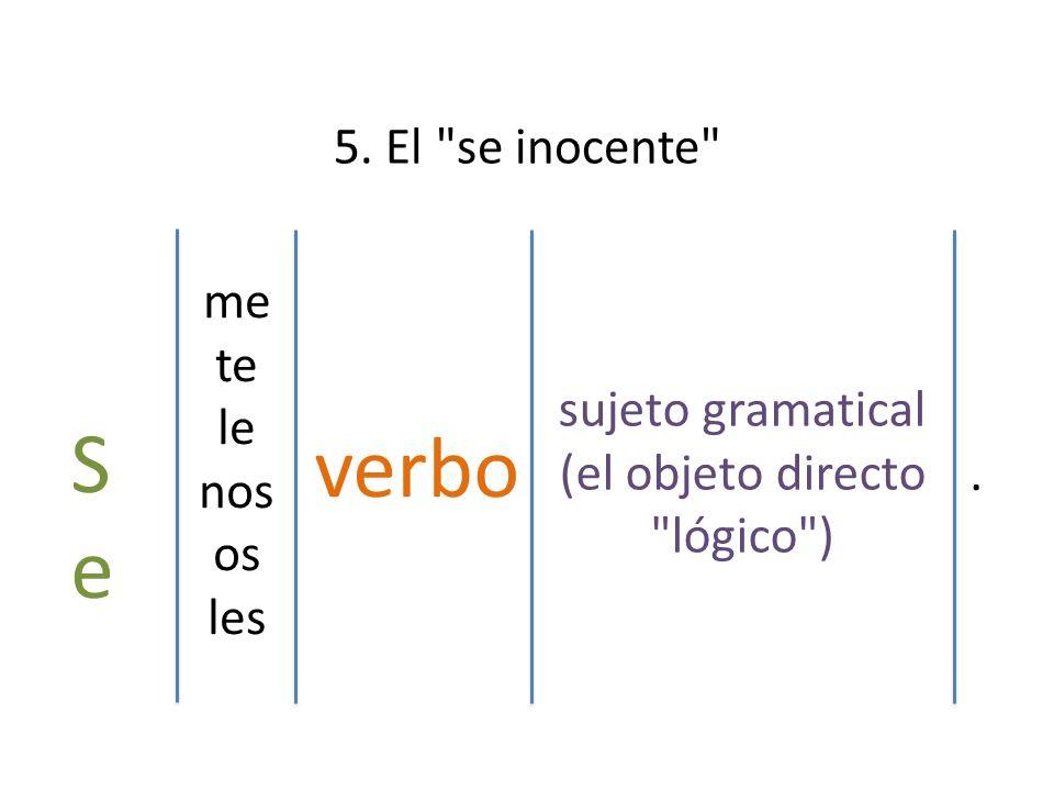 (el objeto directo lógico )