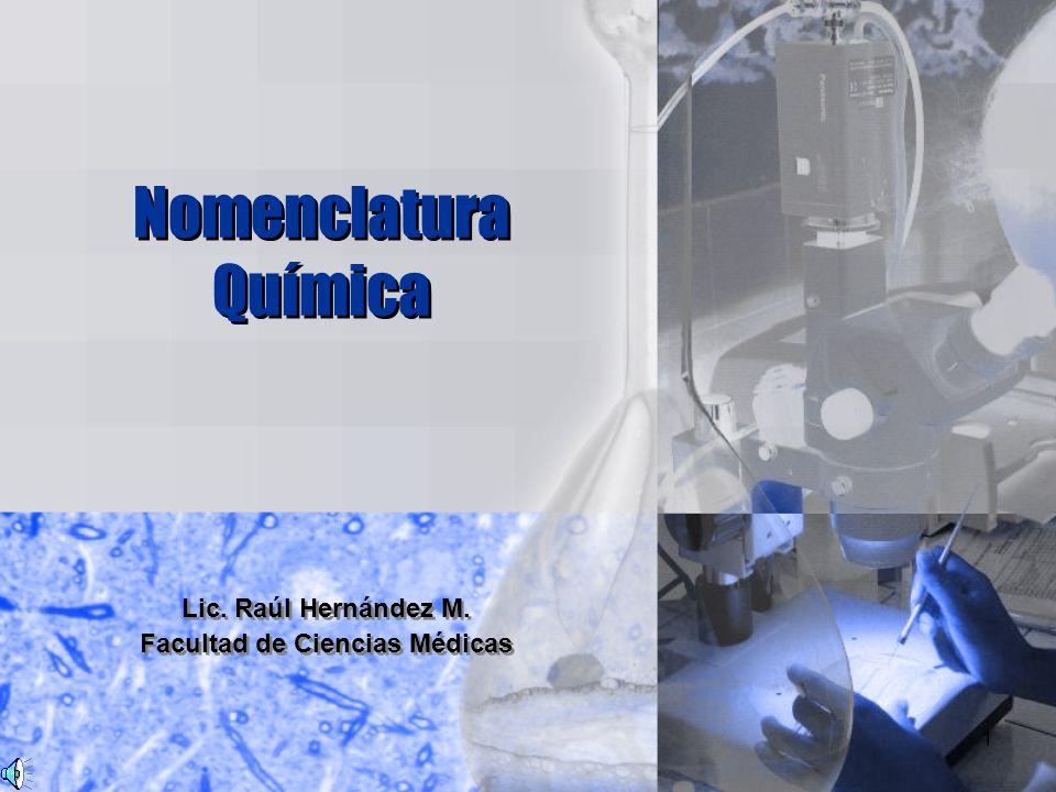 Lic. Raúl Hernández M. Facultad de Ciencias Médicas