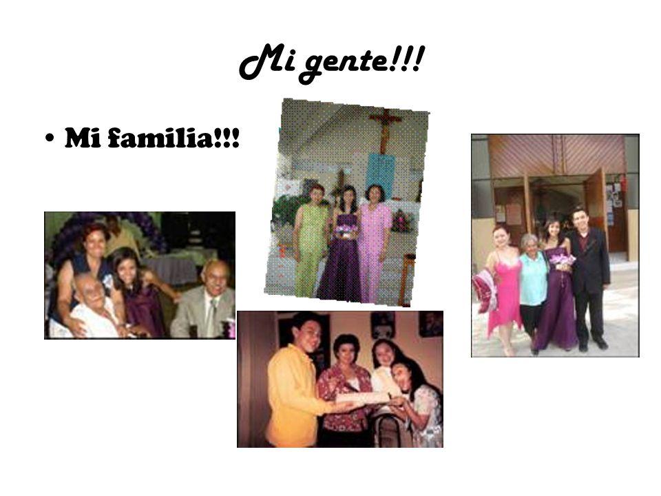 Mi gente!!! Mi familia!!! >