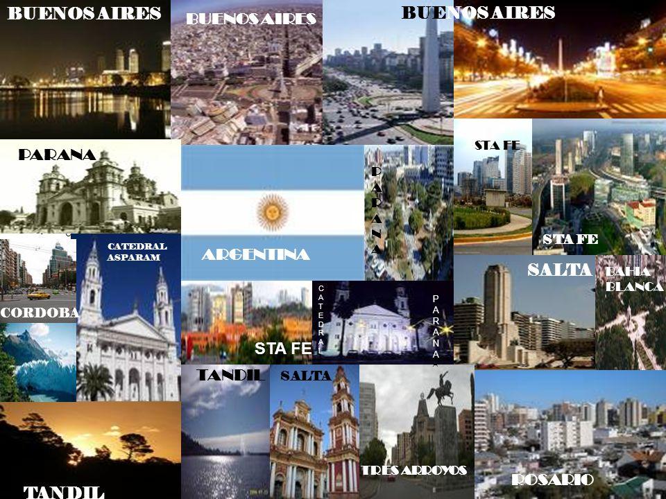 BUENOS AIRES BUENOS AIRES BUENOS AIRES PARANA ARGENTINA SALTA STA FE
