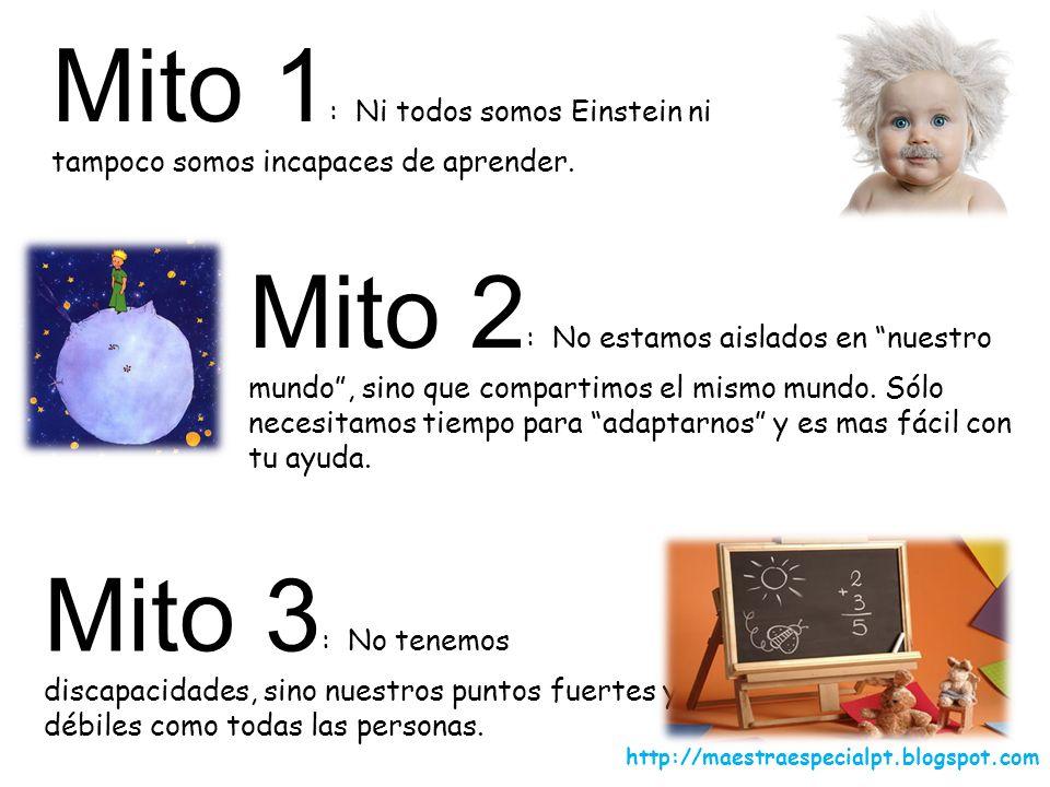 Mito 1: Ni todos somos Einstein ni tampoco somos incapaces de aprender.