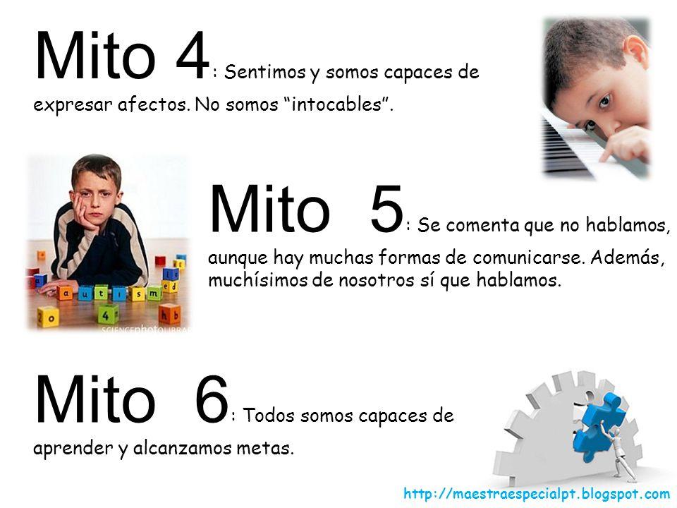Mito 6: Todos somos capaces de aprender y alcanzamos metas.
