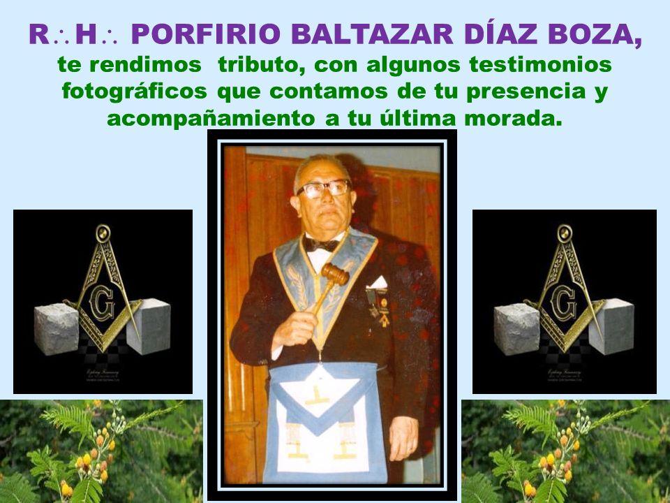 RH PORFIRIO BALTAZAR DÍAZ BOZA,