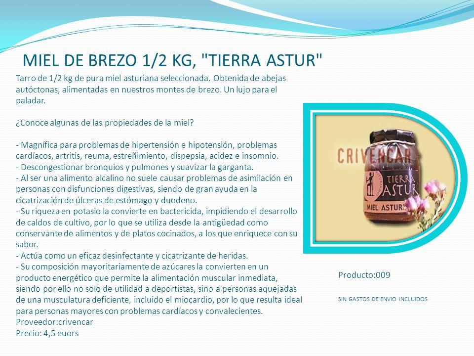 MIEL DE BREZO 1/2 KG, TIERRA ASTUR