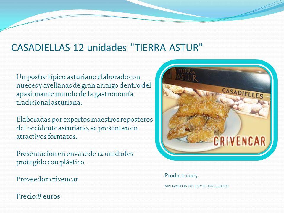 CASADIELLAS 12 unidades TIERRA ASTUR