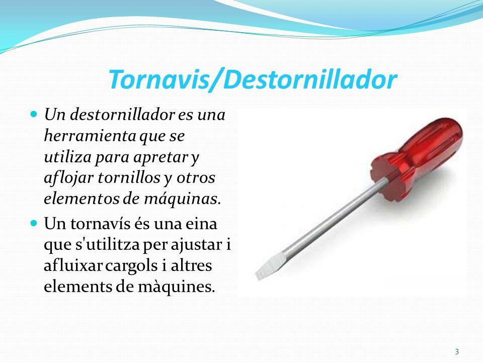 Tornavis/Destornillador