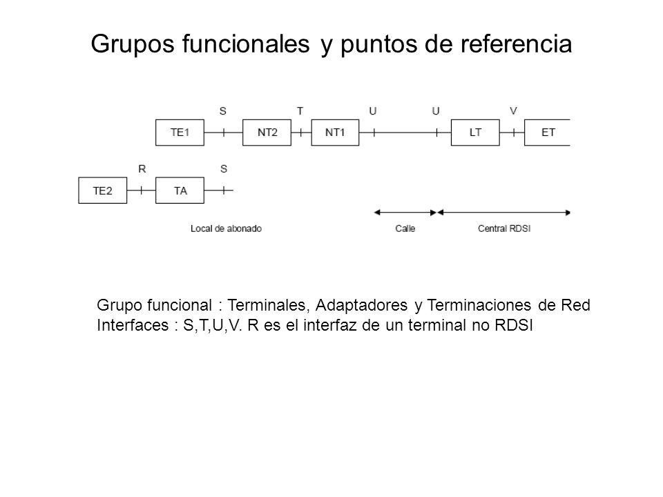 Grupos funcionales y puntos de referencia