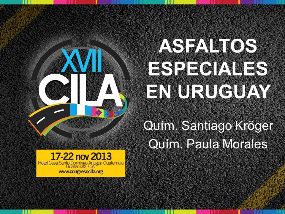 ASFALTOS ESPECIALES EN URUGUAY