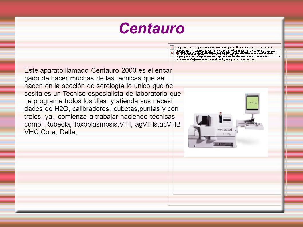 Centauro Este aparato,llamado Centauro 2000 es el encar